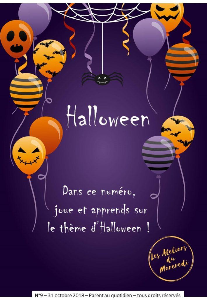 livret pédagogique halloween enfant