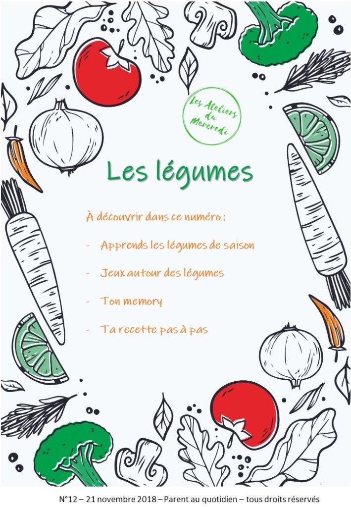 livret pédagogique légumes enfant